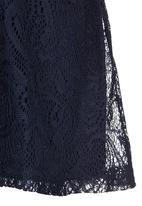 Rebel Republic - Lace Dress Navy