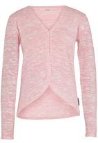 GUESS - Lurex Knit Cardigan Pale Pink