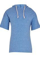 See-Saw - Hooded Tee Blue