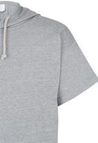 Rebel Republic - Hooded Tee Grey