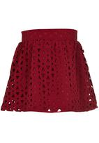 See-Saw - Occasion Skirt Dark Red