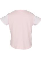 See-Saw - Top with Anglaise Detail Pale Pink
