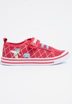 Bubblegummers - Bubblegummers Boys Velcro Strap Mid Pink