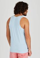Sth Shore - Cuba Vest Pale Blue
