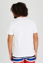 Sth Shore - Longbeach T-Shirt White