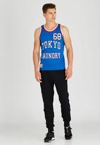 Tokyo Laundry - Tokyo Bulls Vest Blue
