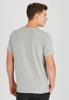 Sth Shore - American Spirit T-Shirt Pale Grey