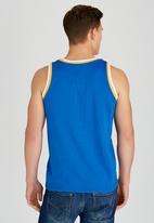 Tokyo Laundry - Achilles Vest Blue