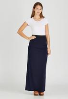 STYLE REPUBLIC - Basic Maxi Skirt Navy