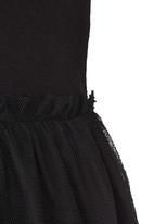 Rebel Republic - Mesh Overlay Dress Black