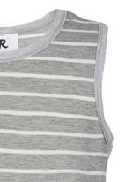 Rebel Republic - Striped Vest Grey