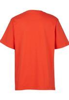 Fox - Printed T-Shirt Red