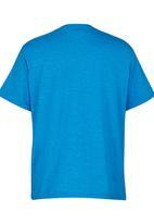 Volcom - Printed T-Shirt Mid Blue