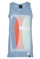 O'Neill - Printed Vest Pale Blue
