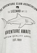 Lizzard - Printed T-Shirt Grey