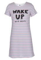Rebel Republic - T-Shirt Night Dress Multi-colour