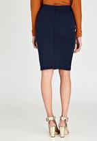Kate Jordan - Pintuck Skirt Navy