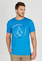 Volcom - Fade T-Shirt Blue