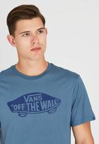 Vans - Vans Otw T-Shirt Blue