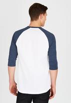 Vans - Vans Classic Raglan T-Shirt White