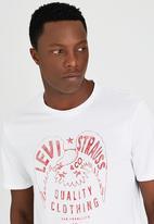 Levi's® - Mens Graphic Tee White