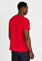 Lee  - Logo T-Shirt Red