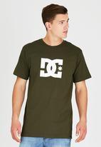 DC - Star Standard T-Shirt Green