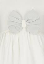 POP CANDY - Bow Dress White