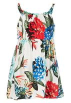 POP CANDY - Floral Printed Summer Dress Multi-colour