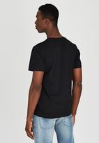 Diesel  - T-Diego-Ad T-Shirt Black