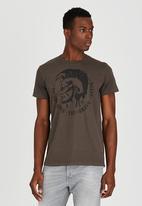 Diesel  - T-Ulysse T-Shirt Grey