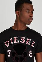 Diesel  - T-Diego-Xj T-Shirt Black