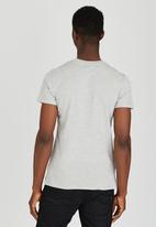Diesel  - T-Diego-Ia T-Shirt Pale Grey