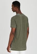 Diesel  - T-Markus-Aa T-Shirt Khaki Green