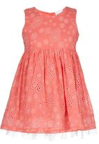 POP CANDY - Printed Dress Coral