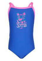 SPEEDO - Fruit Party Ess Thinstrap Swimsuit Mid Blue