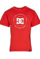 DC - Built Up Tods Tee Red