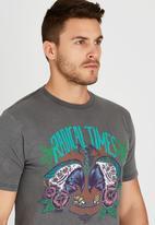 Quiksilver - Psyco Perro T-Shirt Grey