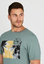 Quiksilver - Palm Tab T-Shirt Green