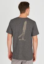 Element - Push Short-Sleeve T-Shirt Brown/Black