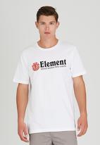 Element - Horizontal Short-Sleeve T-Shirt White