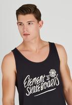 Element - Element Skateboard Singlet Black