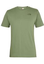 The North Face - Short Sleeve Simple Dome T-Shirt Green