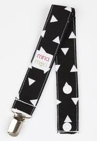 Mina Moo - Mono Triangle Dummy Clip Black