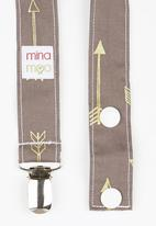 Mina Moo - Apache Arrow Dummy Clip Mid Brown