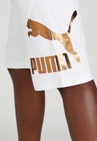 PUMA - Puma Archive Logo Bermuda Shorts White