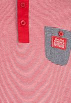 Retro Fire - Golfer  Tee Red