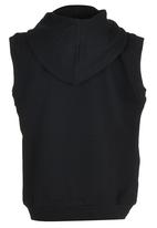 DC - Recover Tods Sleeveless Hoody Black