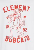 Element - Bobcats SS Tee White