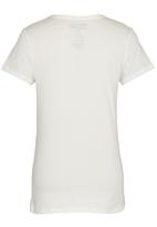 Billabong  - Saltystripe  Teens Tee White